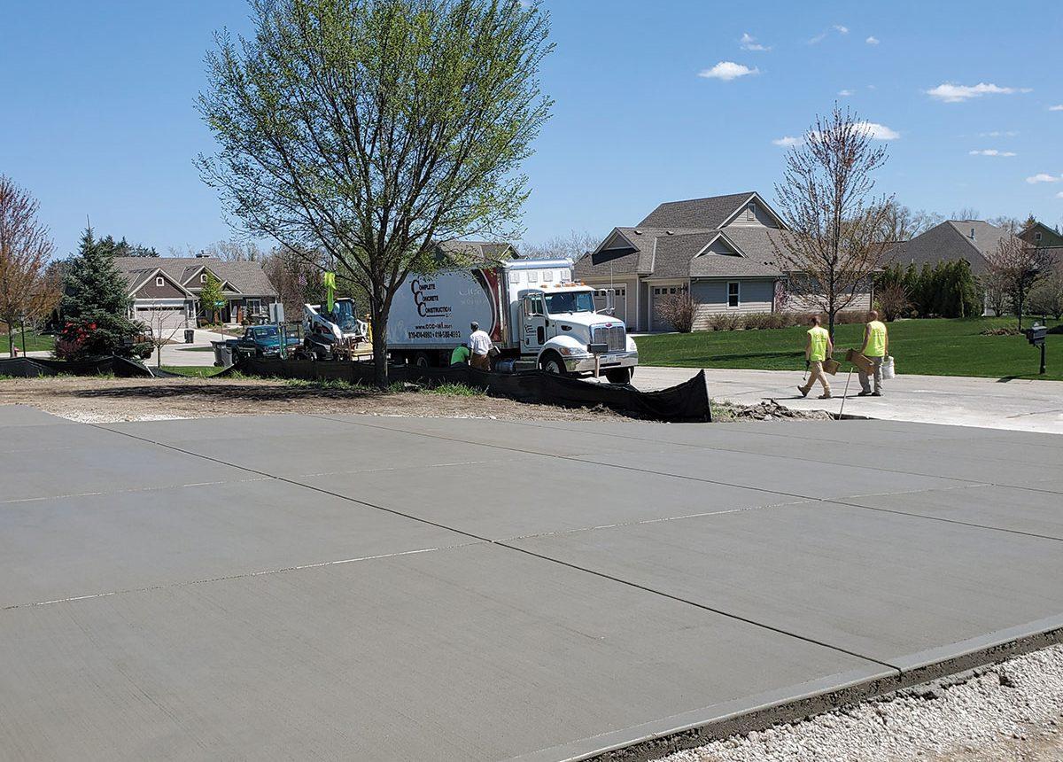 complete concrete construction ccc residential driveways